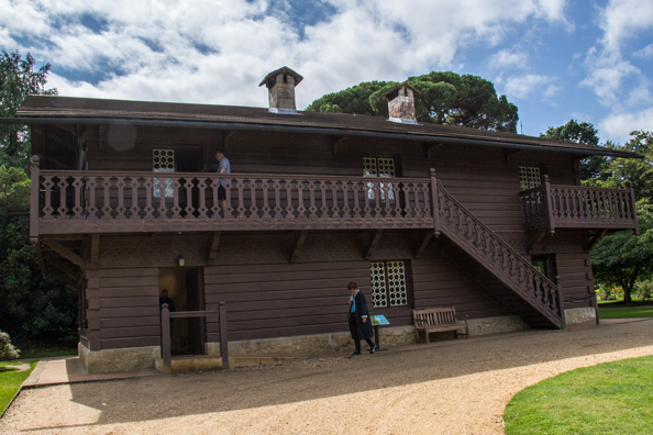 The Swiss Cottage at Osborne House, East Cowes on the Isle of Wight
