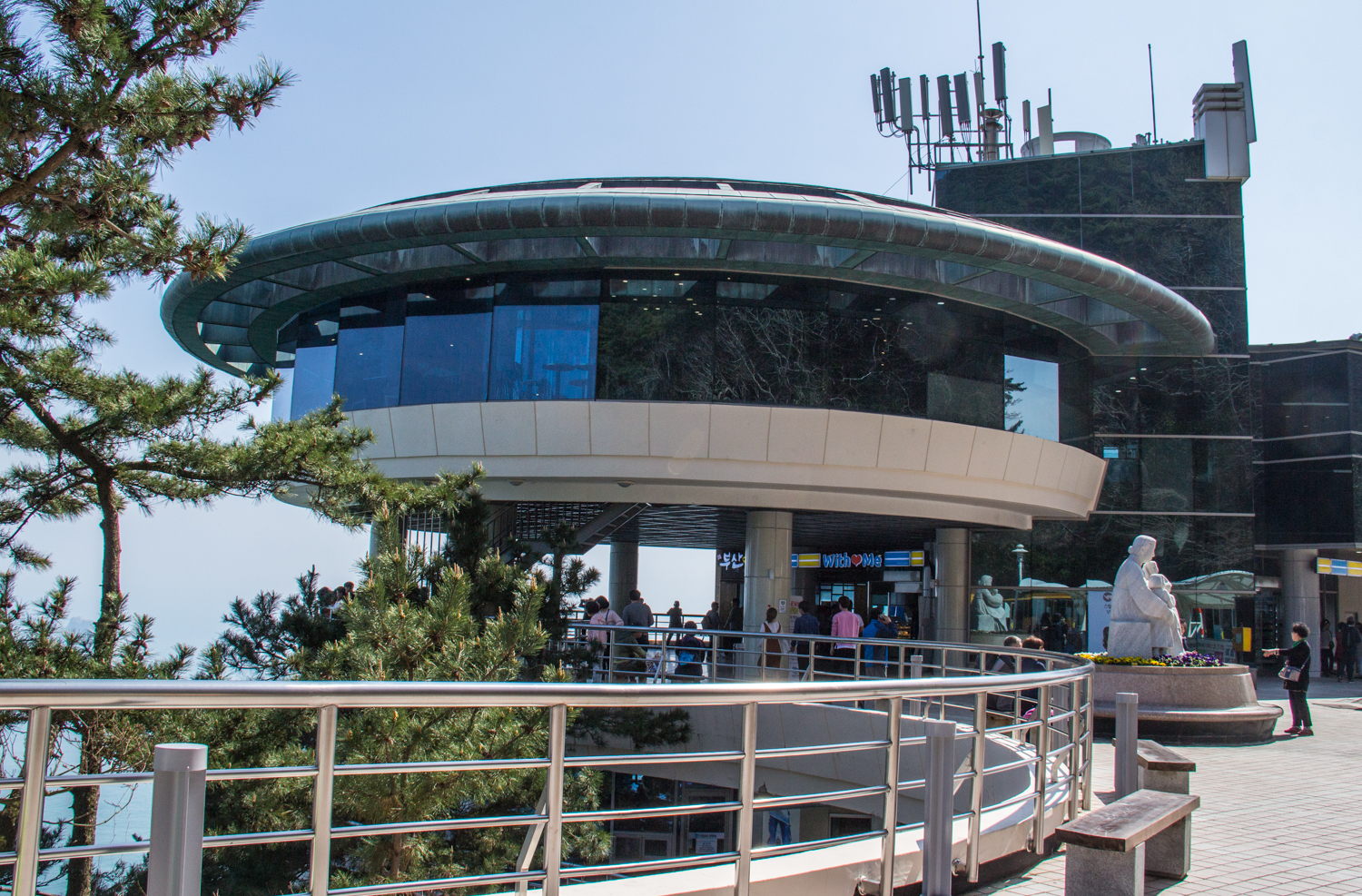 The Taejongdae Park Observatory in Busan, South Korea