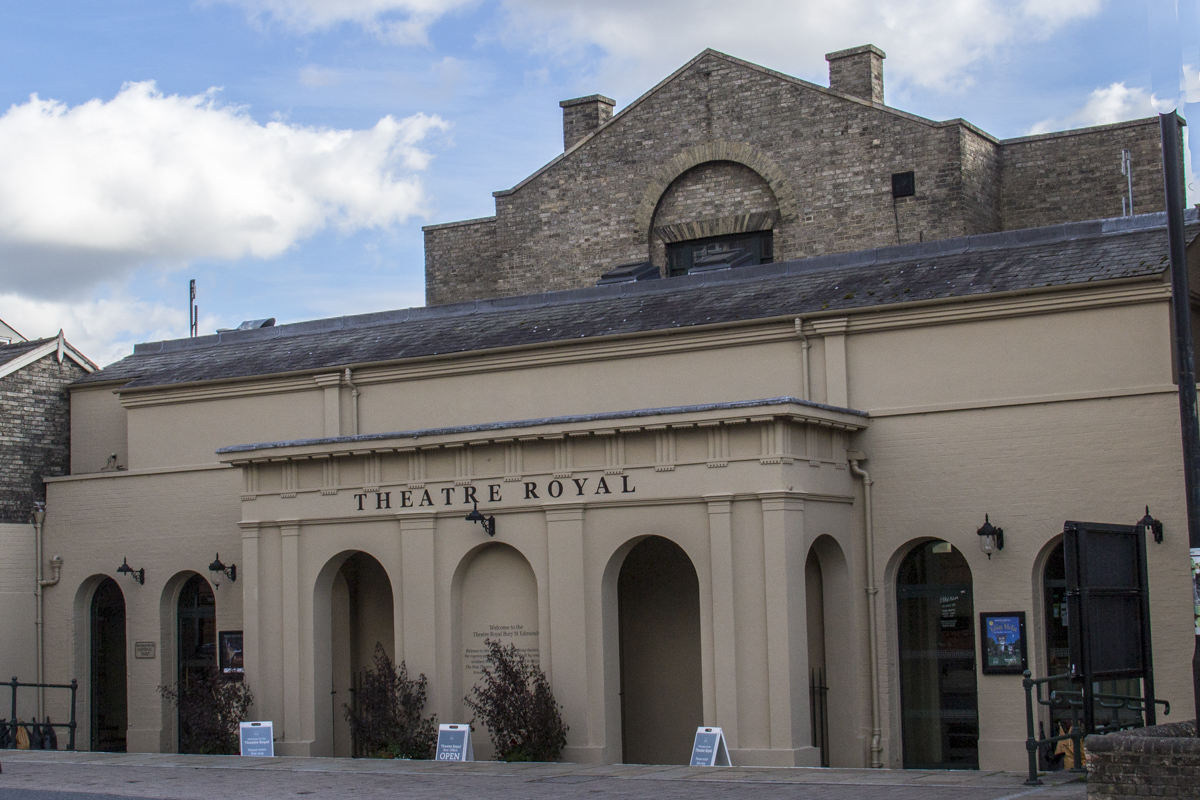 The Theatre Royal in Bury St Edmunds, Suffolk, UK  2