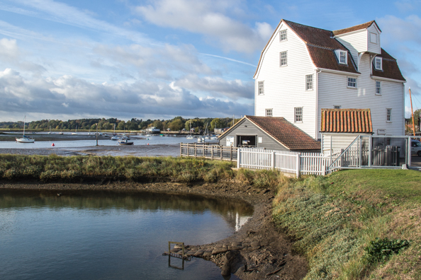 The Tide Mill at Woodbridge, Suffolk, UK
