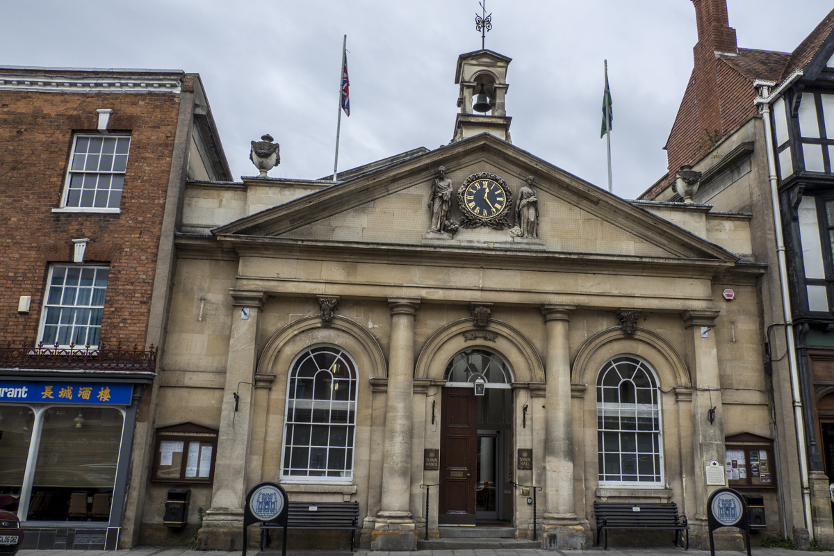 The Town Hall in Tewkesbury    030158