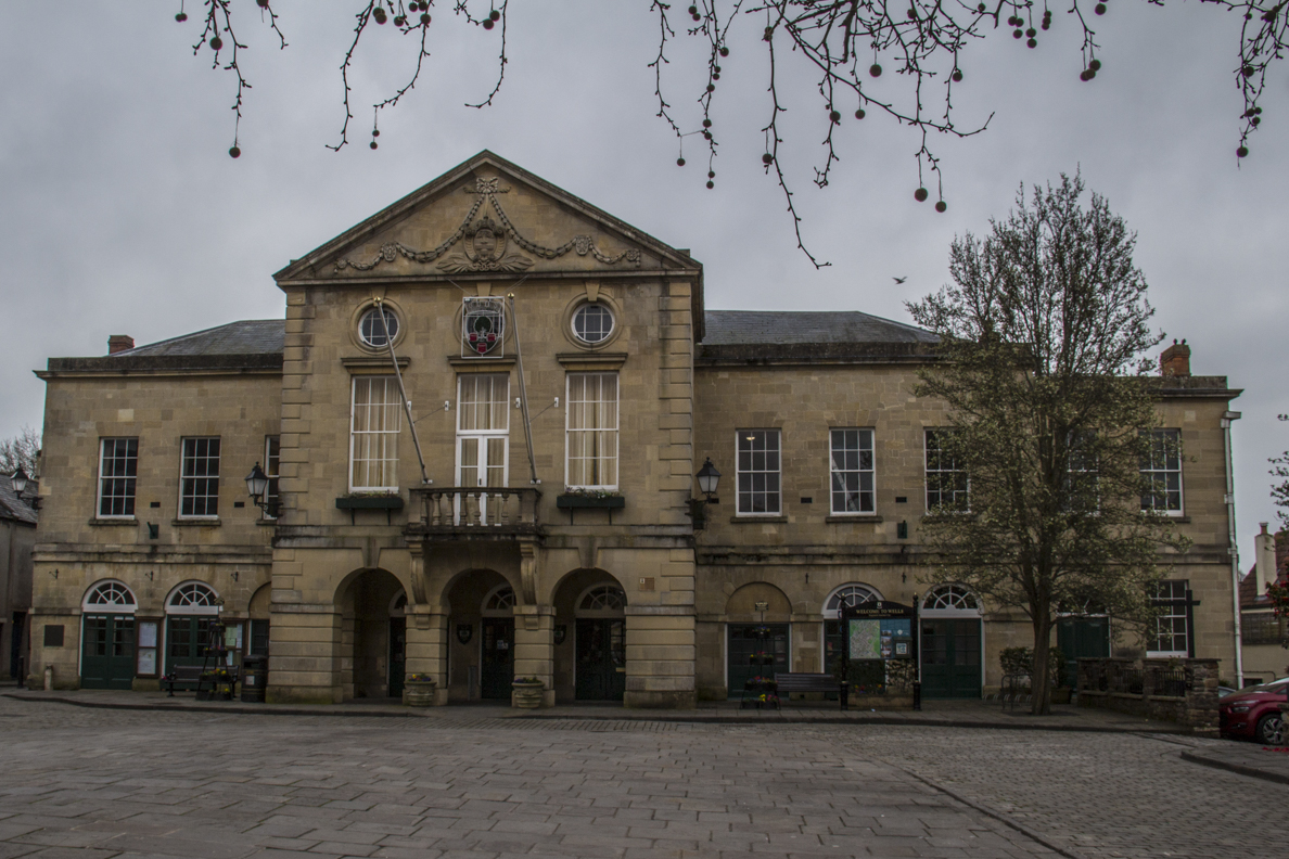 The Town Hall in Wells, Somerset, England    20185463