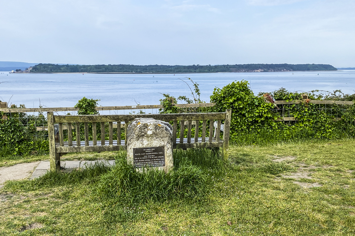 The Viewpoint at the Top of Evening Hill in Sandbanks, Dorset  6839