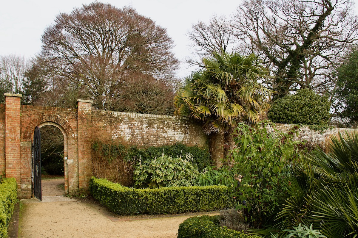 The Walled Garden at Upton Country Park in Dorset