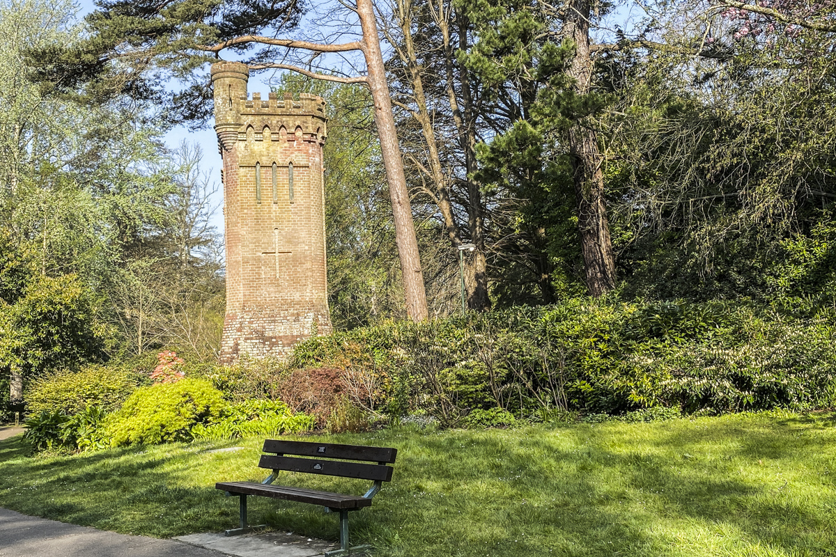 The Water Tower in the Upper Gardens in Bournemouth, Dorset  5574