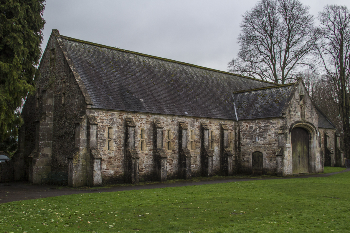 Tithe Barn in Wells, Somerset, England  5568