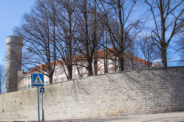 Toompea Castle in Tallinn in Estonia