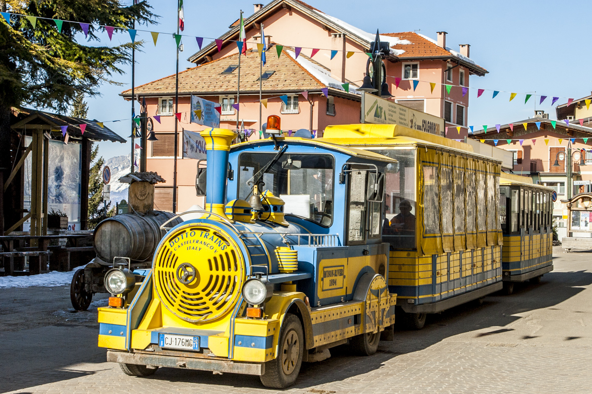 Tourist Train in Folgaria in Trentino, Northern Italy 6319