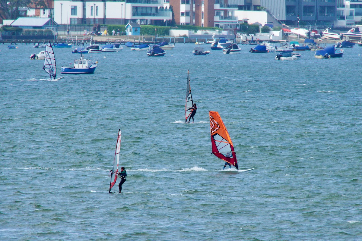 Turned Out Fine for the Windsurfers
