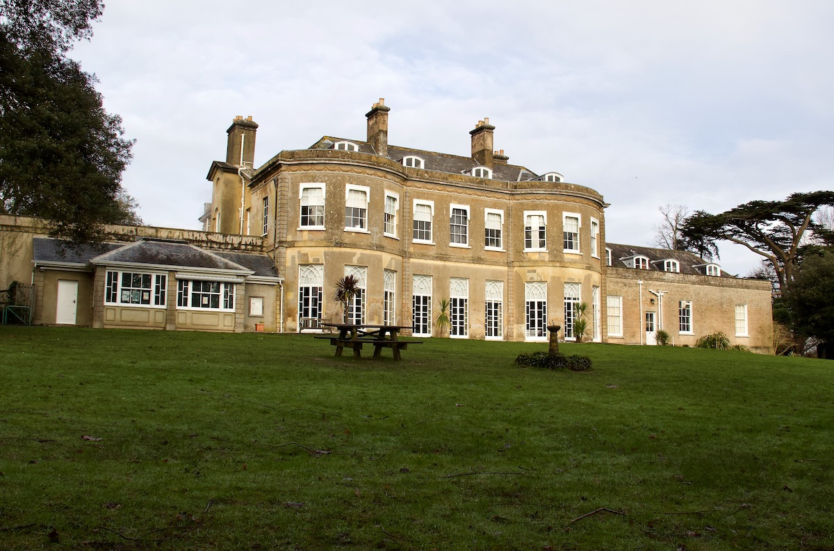 Upton House in Upton Country Park in Dorset
