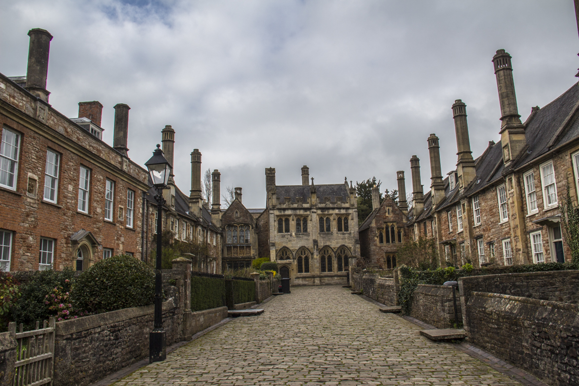Vicars' Close in Wells, Somerset, England   20185419