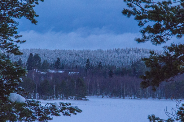 View from the Hotel Kalevala, Kuhmo, Finland