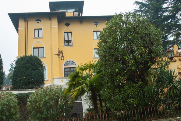 Villa built for Maria Callas in Sirmione on Lake Garda in Italy