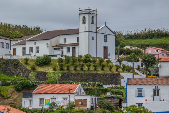 Village of Santa Barbara on São Miguel Island in the Azores