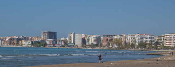 Vlora on the Albanian Riviera
