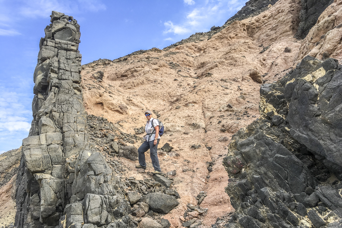 Walking on Fuerteventura in the Canary Islands22