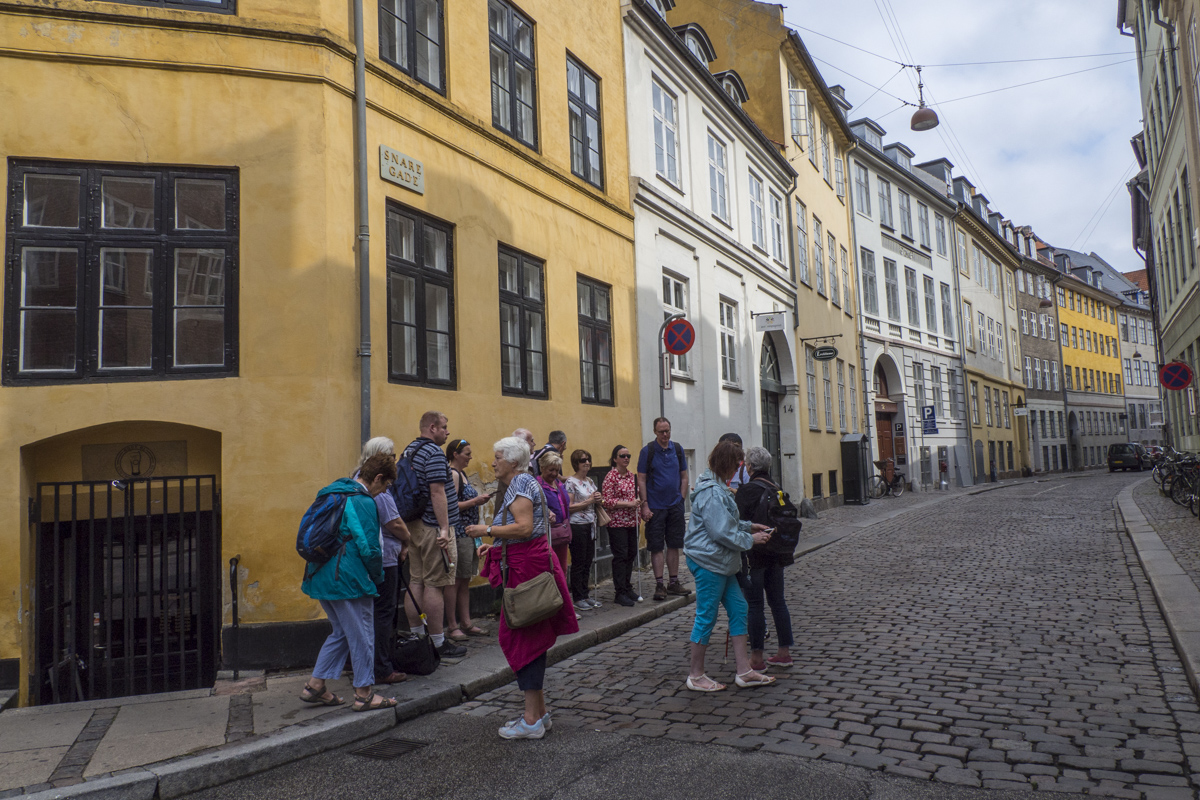 Walking Tour of Copenhagen in Denmark 7210854