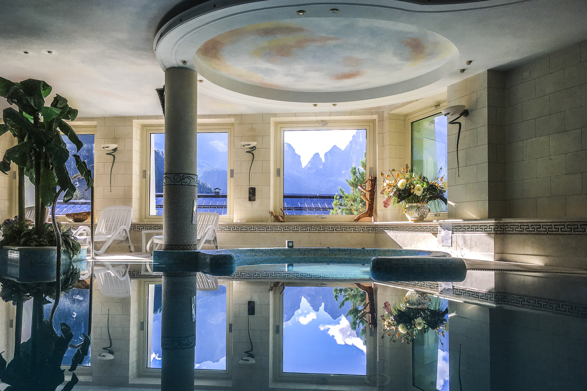 Well Being Centre in the Hotel Lorenzetti in Madonna di Campiglio, Trentino, Italy 8233