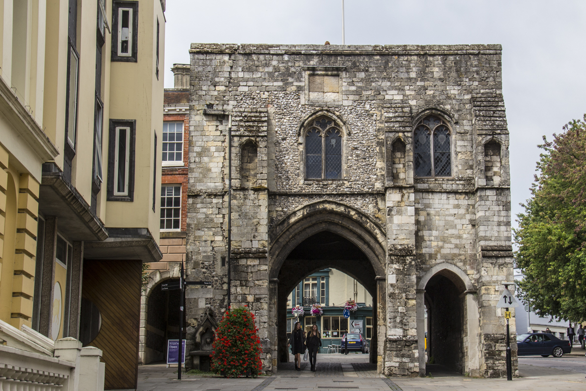 Westgate in Winchester, Hamphsire, England 35