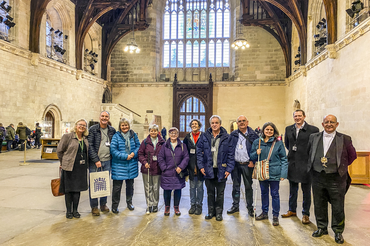 Westminster Hall in the Palace of Westminster in London     IMG 4229